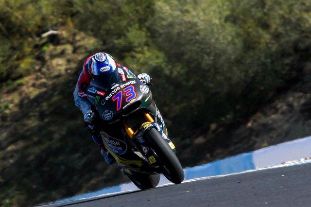 El piloto español de Moto2 Àlex Márquez
