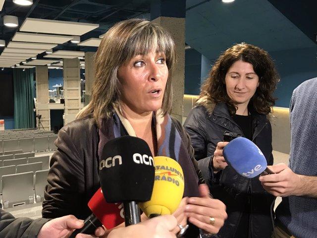 Núria Marin, alcaldesa de L'Hospitalet de Llobregat