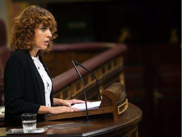 Alexandra Fernández, diputada de En Marea