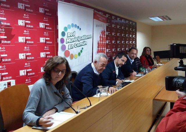 Jornada sobre federalismo en Sevilla, con Gómez de Celis y Sergio Pascual