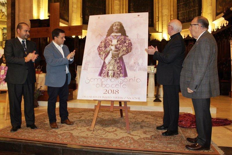 Nuestro Padre Jesús de Medinaceli protagoniza el cartel de la Semana Santa de Albacete