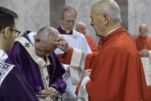 El Papa en el miércoles de ceniza