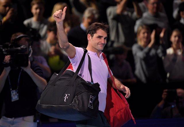 El tenista suizo Roger Federer