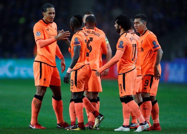 El Liverpool en Champions