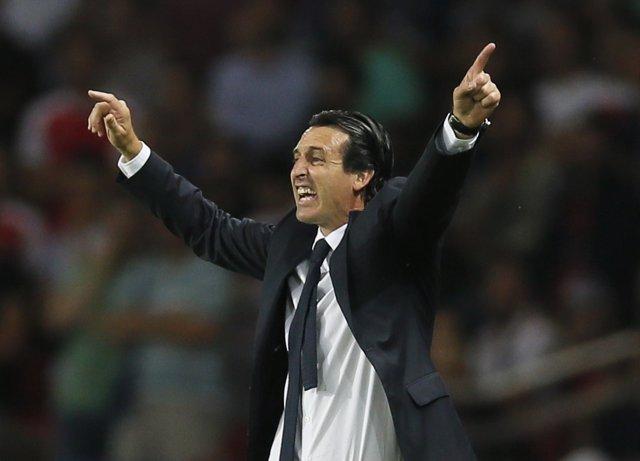 Unai Emery, entrenador del PSG