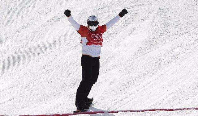 Regino Hernández gana el bronce en prueba de cross del snowboard en PyeongChang