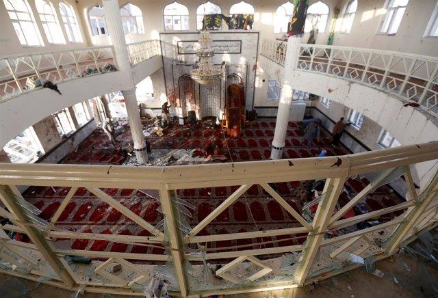 Mezquita atacada en Kabul