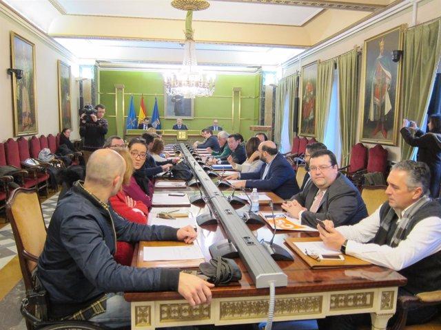 Pleno municipal Oviedo