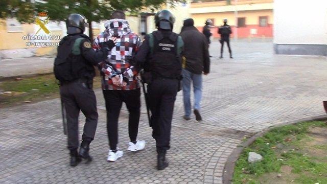 Detención en Sevilla de una banda criminal en la operación 'Pingajo'