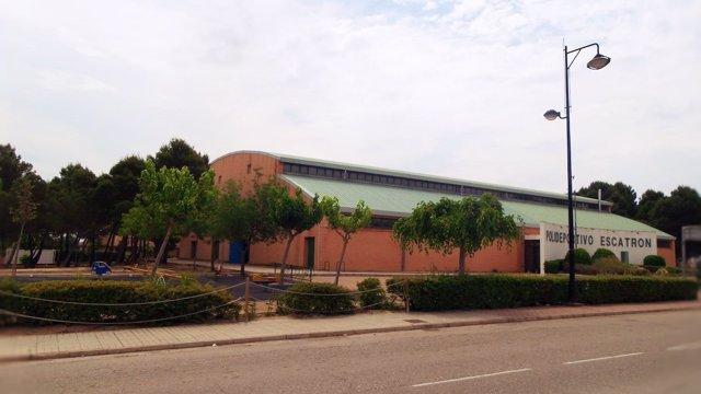 Polideportivo de Escatrón (Zaragoza)