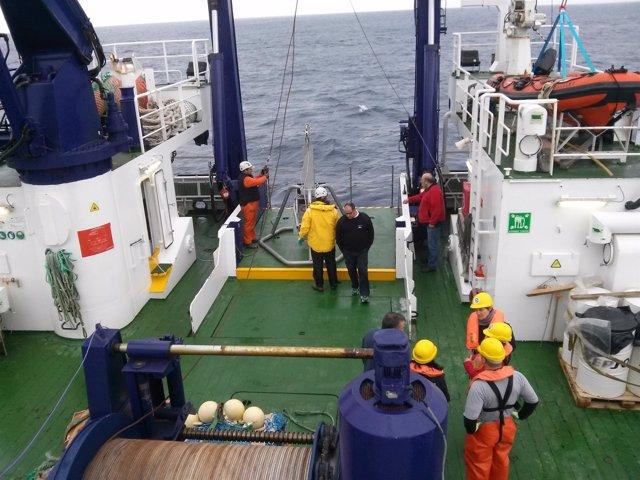 Ministerio Medio Ambiente   Primera Campaña Oceanográfica Life Intemares   Nota