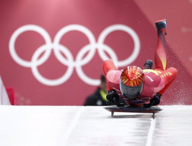 Ander Mirambell en los Juegos Olímpicos de Pyeongchang 2018
