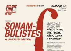 L'Hospital Sant Joan de Déu ofereix l'espectacle 'Sonambulistes' per trencar estigmes (SANT JOAN DE DÉU)