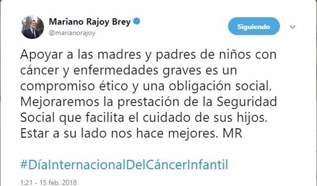 Tuit Mariano Rajoy