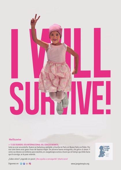 El tema 'I will survive', nuevo lema en la lucha contra el cáncer infantil
