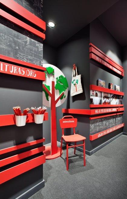 Entreculturas participa en la Exposición Casa Décor de Madrid con un espacio para visibilizar el derecho a la educación