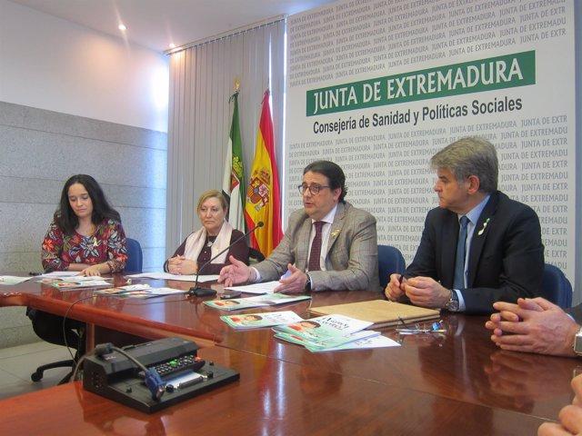 Consejero de Sanidad y Políticas Sociales, José María Vergeles