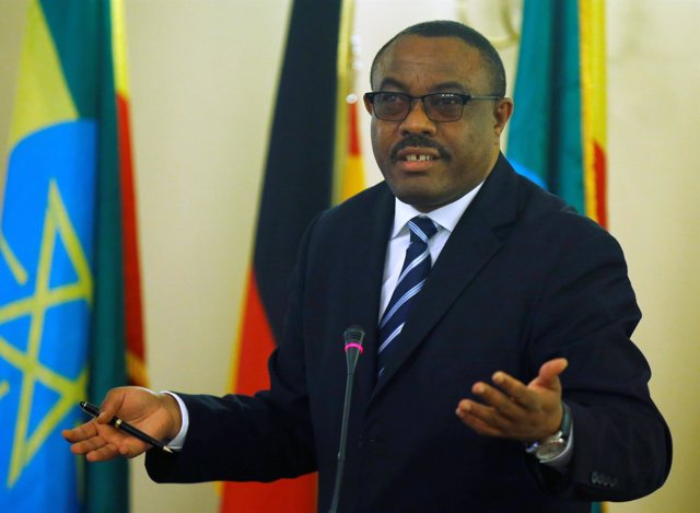 Hailemariam Desalegn, primer ministro de Etiopía