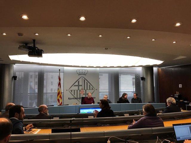 Comisión de estudio sobre el tranvía por la Diagonal