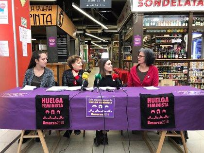 Una decena de músicos ponen banda sonora a la huelga feminista del 8 de marzo