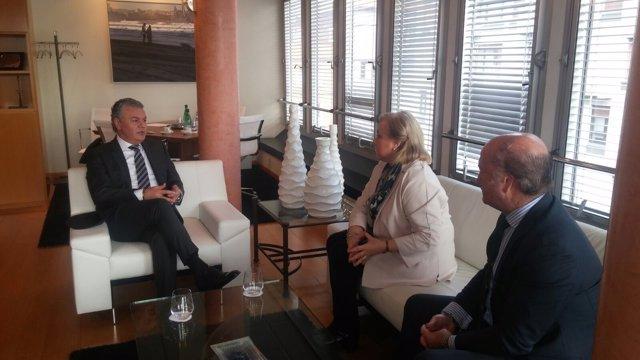 Belarmino Feito, Mercedes Fernández y Luis Venta