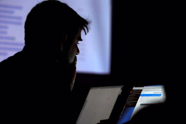 Foto de archivo de un concurso de 'hacking' en Estados Unidos
