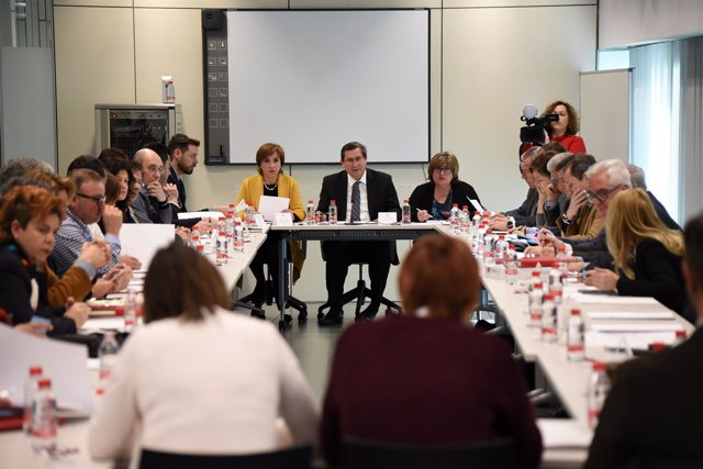 Reunión de la Mesa por la Industrial