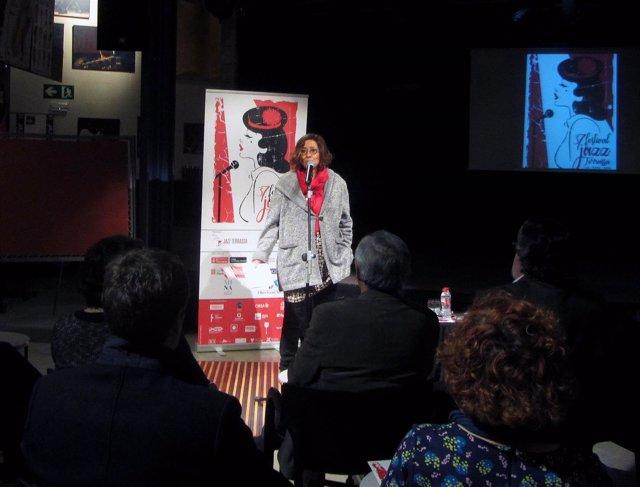 La coordinadora del Festival de Jazz de Terrassa, Susanna Carmona