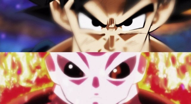 Goku y Jiren en Dragon Ball Super