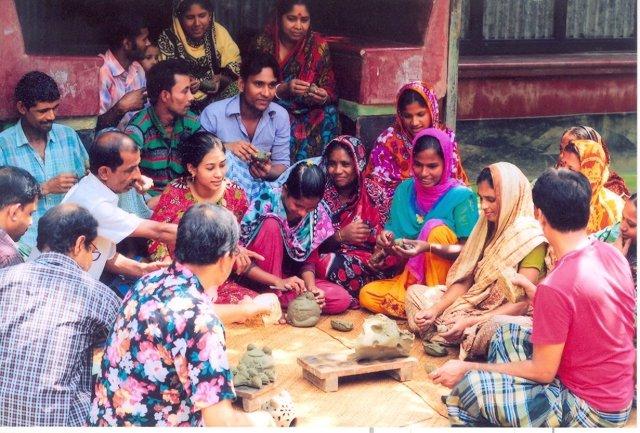 La ONG The Jute Works de Bangladesh impulsa el Comercio Justo en la región