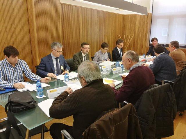 Valladolid.- Reunión de la comisión de la Sequía.