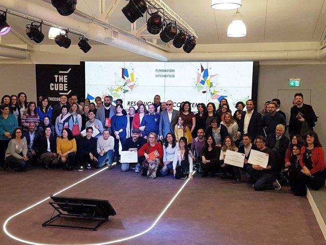 Fundación Universia entrega 50.000 euros en ayudas a proyectos para la inclusión