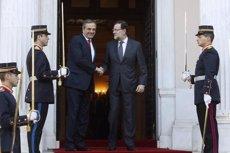 Samaras denuncia Tsipras per impulsar una investigació sobre un cas de corrupció suposadament fals (TWITTER DE LA MONCLOA)
