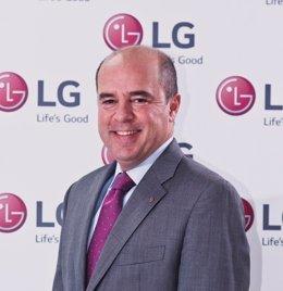 CEO y presidente de LG Iberia, Jaime de Jaraíz