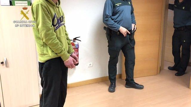 Detenido por vender droga a niños pequeños