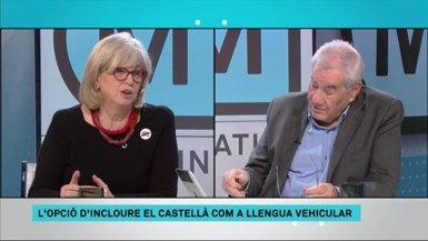 """Els exconsellers Rigau i Maragall atribueixen a una """"guerra entre el PP i Cs"""" el debat sobre la immersió (CCMA)"""