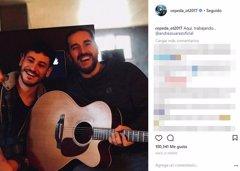 Cepeda se une a Andrés Suárez para componer una canción
