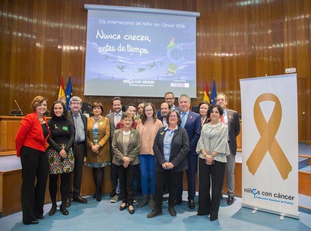 Acto institucional de la Federación Española de Padres de niños con Cáncer