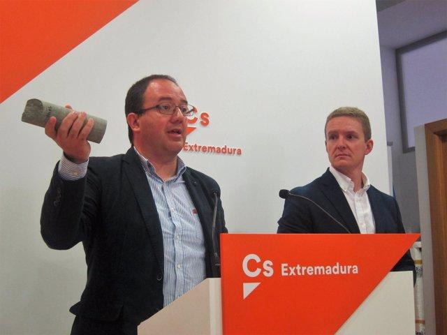 Portavoz de Ciudadanos Extremadura, Cayetano Polo