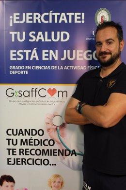 Imagen del profesor Pablo Jorge Marcos-Pardo