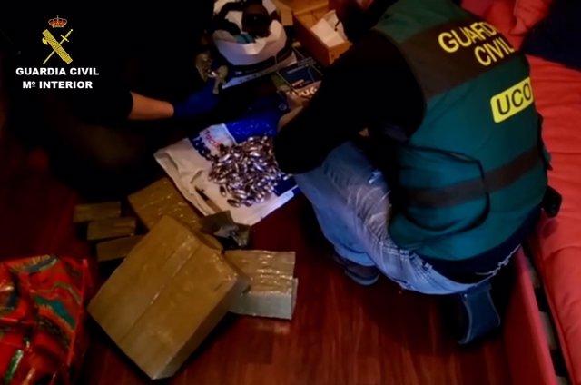 Operación con 10 detenidos por tráfico de drogas en Galici y Portugal