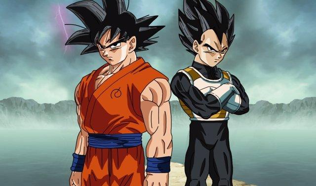 Dragon Ball Goku y Vegeta