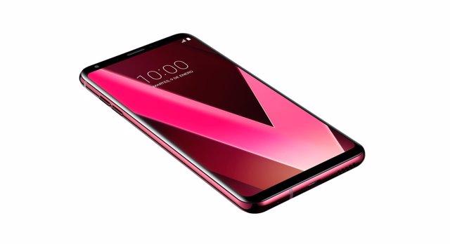 LG V30 En Color Rosa