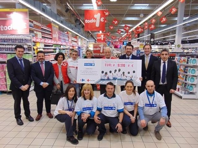 Donación a Cruz Roja de la Fundación Solidaria Carrefour
