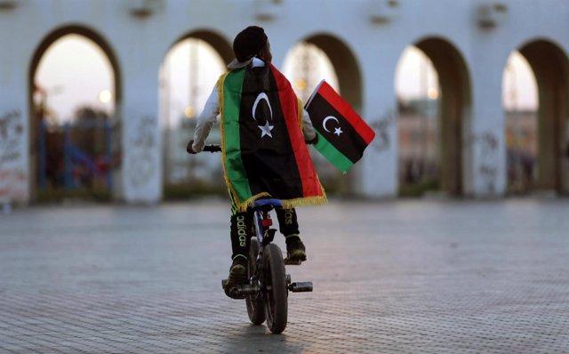 Aniversario de la revolución libia