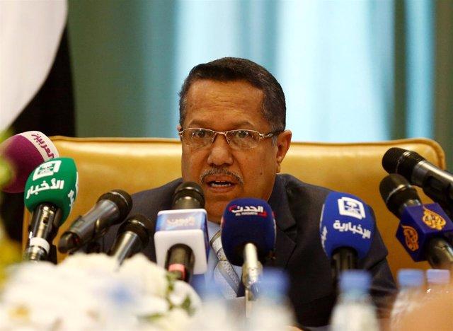 Primer ministro de Yemen Ahmed Obeid bin Daghr