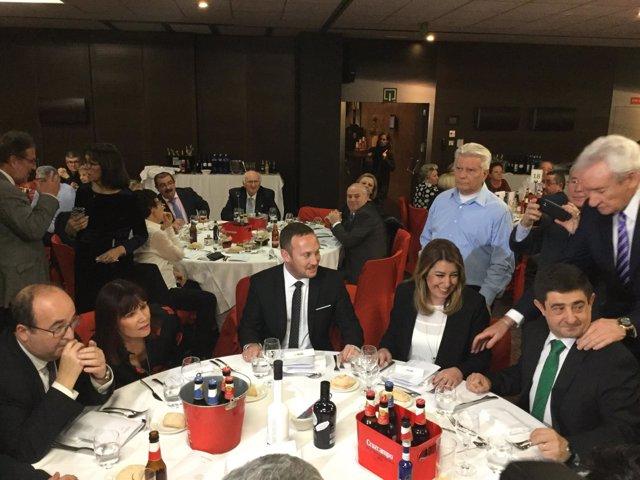 Entrega de premios de la Federación de Entidades Culturales de Andalucía