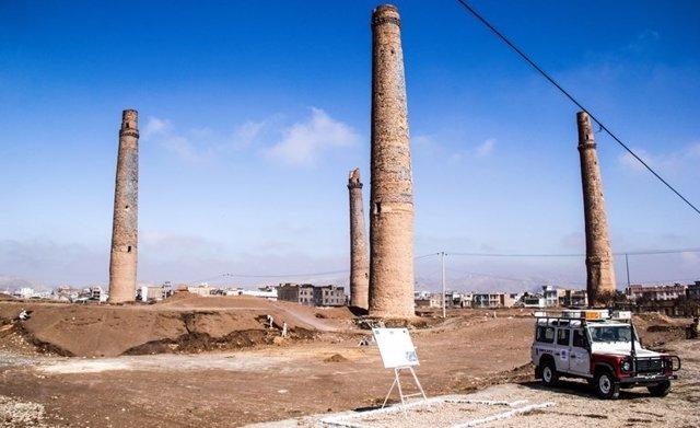 Minaretes de Herat desminados por HALO Trust