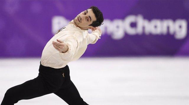 Javier Fernández Juegos Olímpicos Invierno Pyeongchang