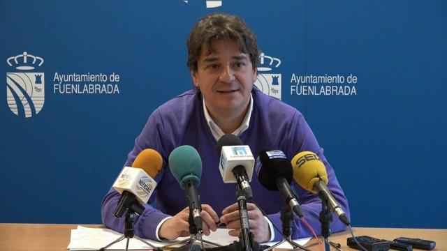 El alcalde de Fuenlabrada, Javier Ayala